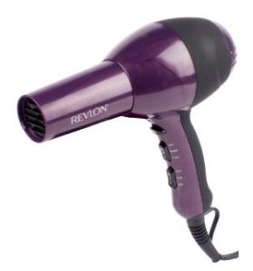 revlon hair dryer maroon