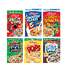 picture of Kellogg's cereal boxes