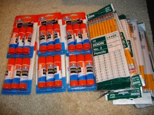 School Supplies from Bi-Mart