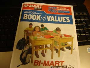 Bi-Mart Book of Values Back to School Coupon Book