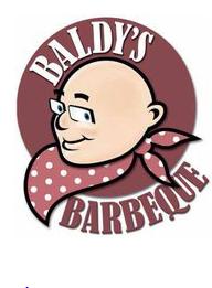 Baldy's BBQ Logo