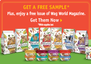 Beneful dog food free sample ad