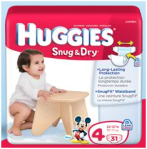 Huggies Snug and Dry diaper logo