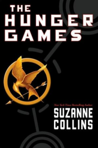Hunger Games front cover of book