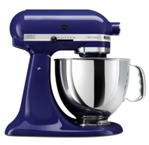 Kitchenaid mixer in cobalt