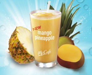 McDonald's mango pineapple drink picture