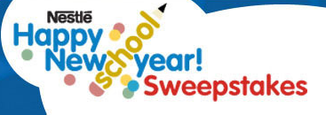 Nestle Happy New Schoolyear Sweepstakes logo