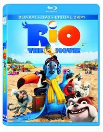 Rio on Blu-Ray DVD case