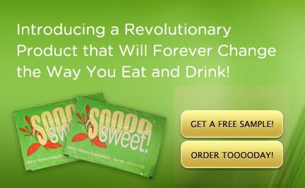 So Sweet Stevia ad