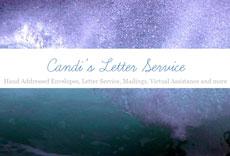 Candi's Letter Service logo